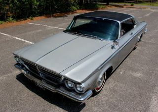 Rare 1964 Chrysler 300 Silver Edition - Fully Documented Suvivor photo