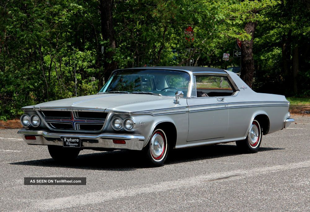 Rare 1964 Chrysler 300 Silver Edition Fully Documented