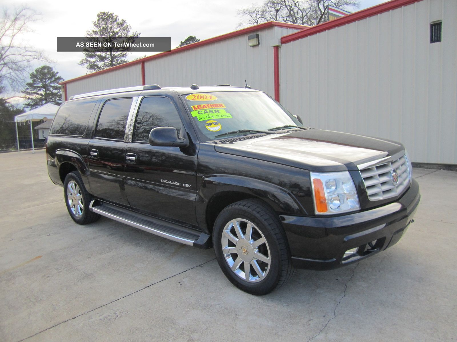 2004 cadillac escalade esv sport utility 4 door 6 0l. Black Bedroom Furniture Sets. Home Design Ideas