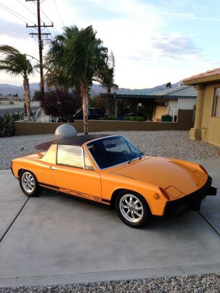 1973 Porsche 914 / California Car / 2 Owner / Matching ' S / Signal Orange photo