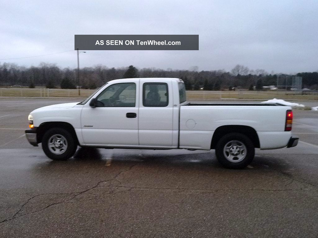 2001 chevy silverado ext cab 4 door 6 passenger gov 39 t fleet truck 4 3 v6. Black Bedroom Furniture Sets. Home Design Ideas