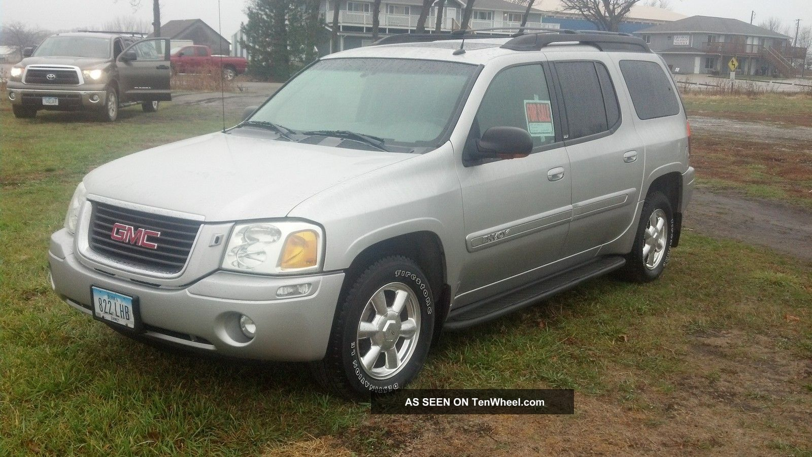 2004 gmc envoy xl slt sport utility 4 door 4 2l. Black Bedroom Furniture Sets. Home Design Ideas
