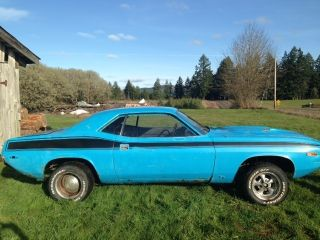 1973 Petty Blue Cuda photo