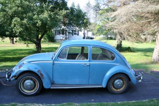 1966 Vintage Volkswagen Beetle With Ac And Rock Solid Floors photo