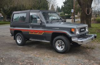 1988 Landcruiser Bj73 Diesel Almost Garrett Turbo Maintence Recrords photo