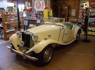 1952 Mg Td - With Matching Numbers,  Full Restoration,  Great Running Car photo