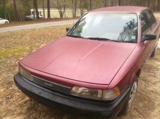 1989 Toyota Camry 4 - Door 4 Cylinder Dependable And Gas Saver