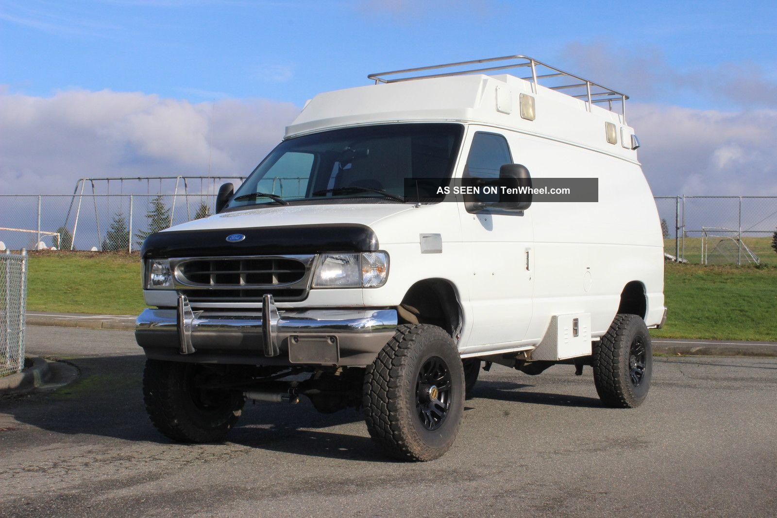 1995 ford e350 7 3 powerstroke turbo diesel 4x4 van. Black Bedroom Furniture Sets. Home Design Ideas