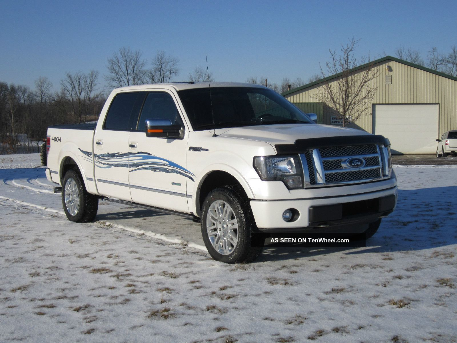 2012 ford f 150 ecoboost platinum crew cab 4x4 crew truck turbo 3 5l. Black Bedroom Furniture Sets. Home Design Ideas