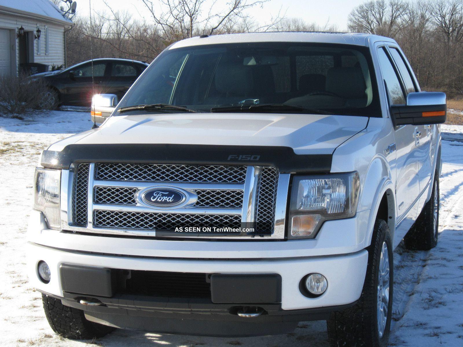 2012 ford f 150 ecoboost platinum crew cab 4x4 crew truck turbo 3 5l. Black Bedroom Furniture Sets. Home Design Ideas