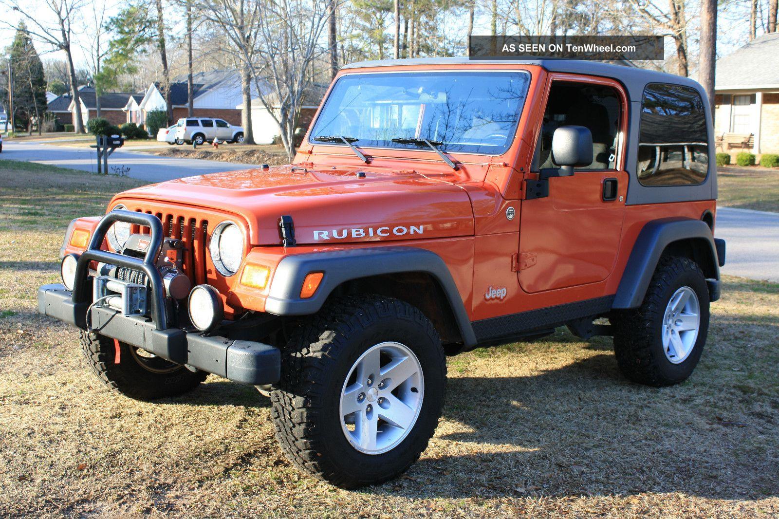 2005 jeep wrangler rubicon sport utility 2 door 4 0l 6 spd dual top. Black Bedroom Furniture Sets. Home Design Ideas