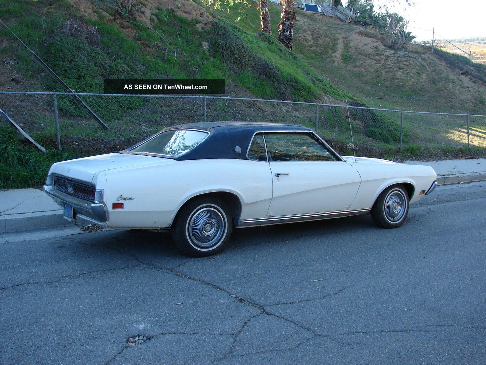 1970 Ford Mercury Cougar Xr7 351 Windsor V8