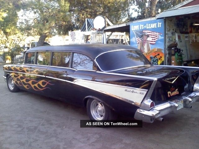 1957 Chevy Limo,  Limousine,  Car Collectors Hurry And Dont Let This Get Away Wow Bel Air/150/210 photo