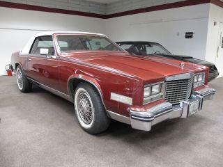 1985 Cadillac Eldorado Convertible - Top photo