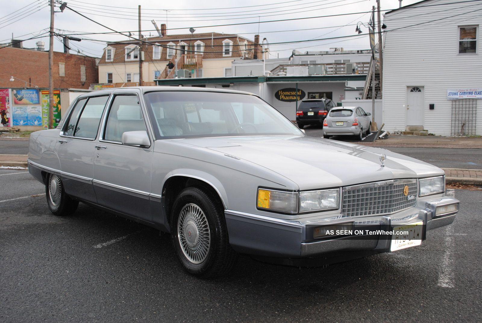1990 Cadillac Fleetwood Base Sedan 4 Door 4 5l