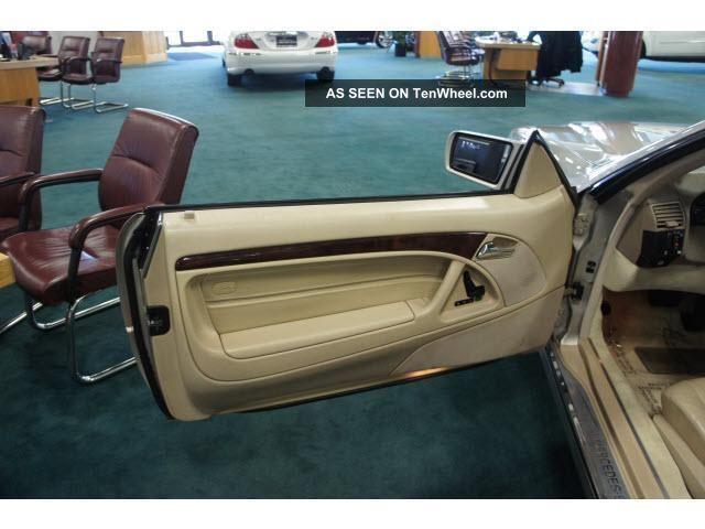 1998 Mercedes Benz Sl Class 2dr Roadster 5 0l