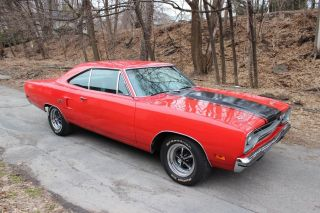 1970 Plymouth Gtx 440 Track Pack Car Fe5 Red photo