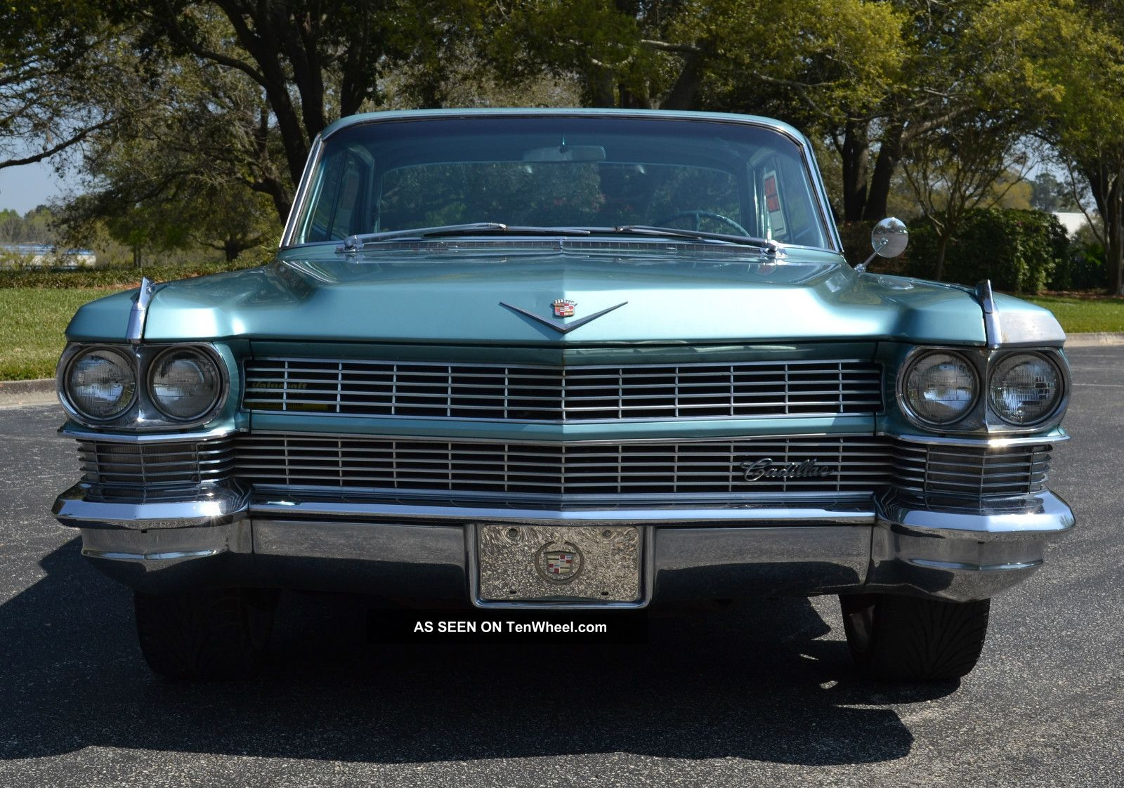 1964 cadillac sedan deville 4dr 6 window hardtop car