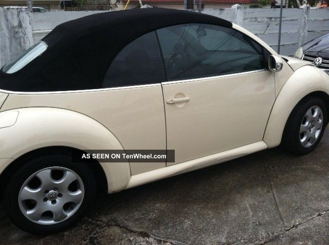 2003 volkswagen beetle convertible automatic very. Black Bedroom Furniture Sets. Home Design Ideas