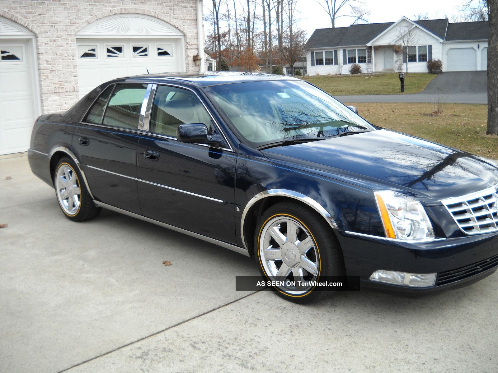 Cadillac Dts Luxury Package Ii Lgw