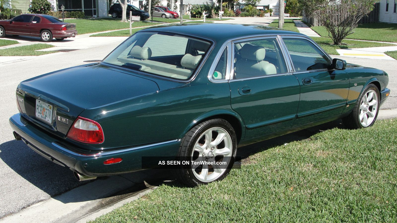 2001 jaguar xjr classic british racing green