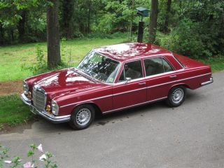 1968 Mercedes 280s W108 With 1988 - 300 Se W126 Drive Train And Gas Tank photo