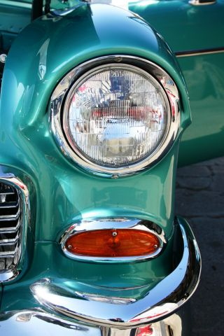 1955 Chevy Belair Hardtop - Full Frame - Off Restoration - Loaded - Nr photo