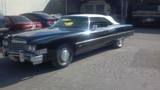 1973 Cadillac Eldorado Base Convertible 2 - Door 8.  2l photo
