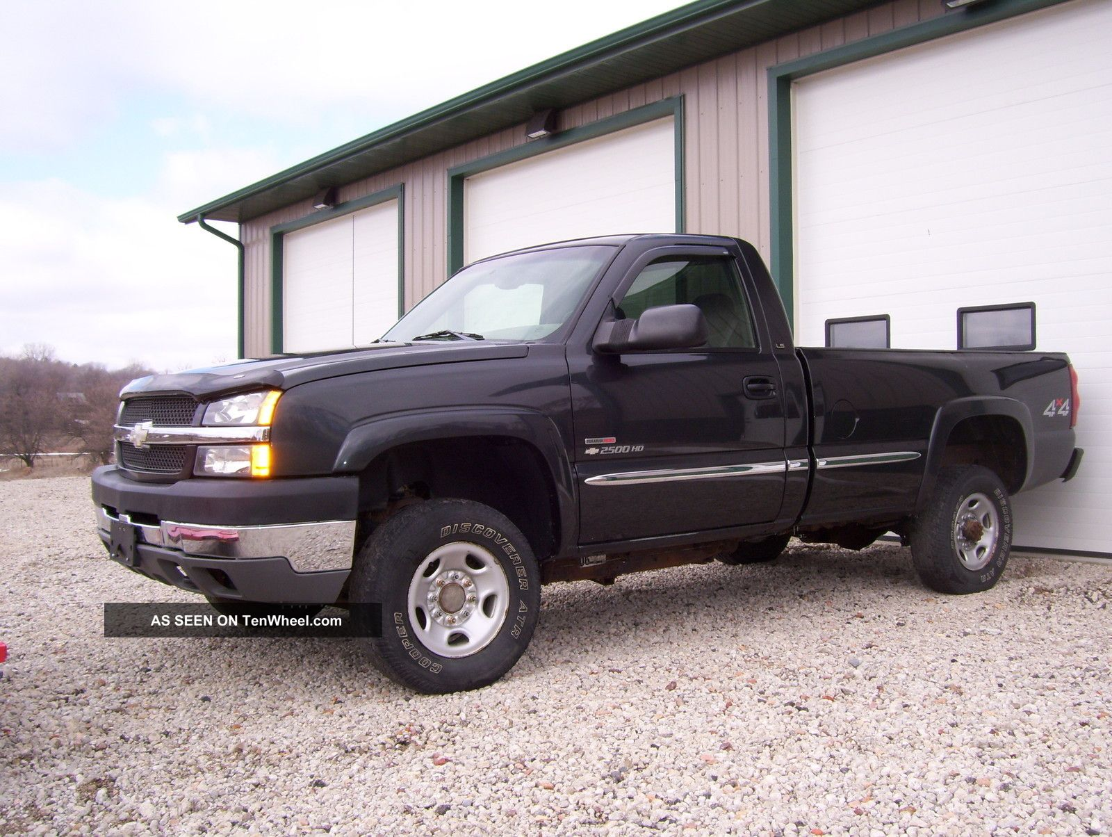 2003 2500Hd diesel duramax duty gmc heavy pickup truck #5