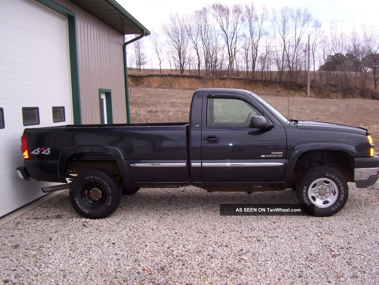 2003 2500Hd diesel duramax duty gmc heavy pickup truck #4