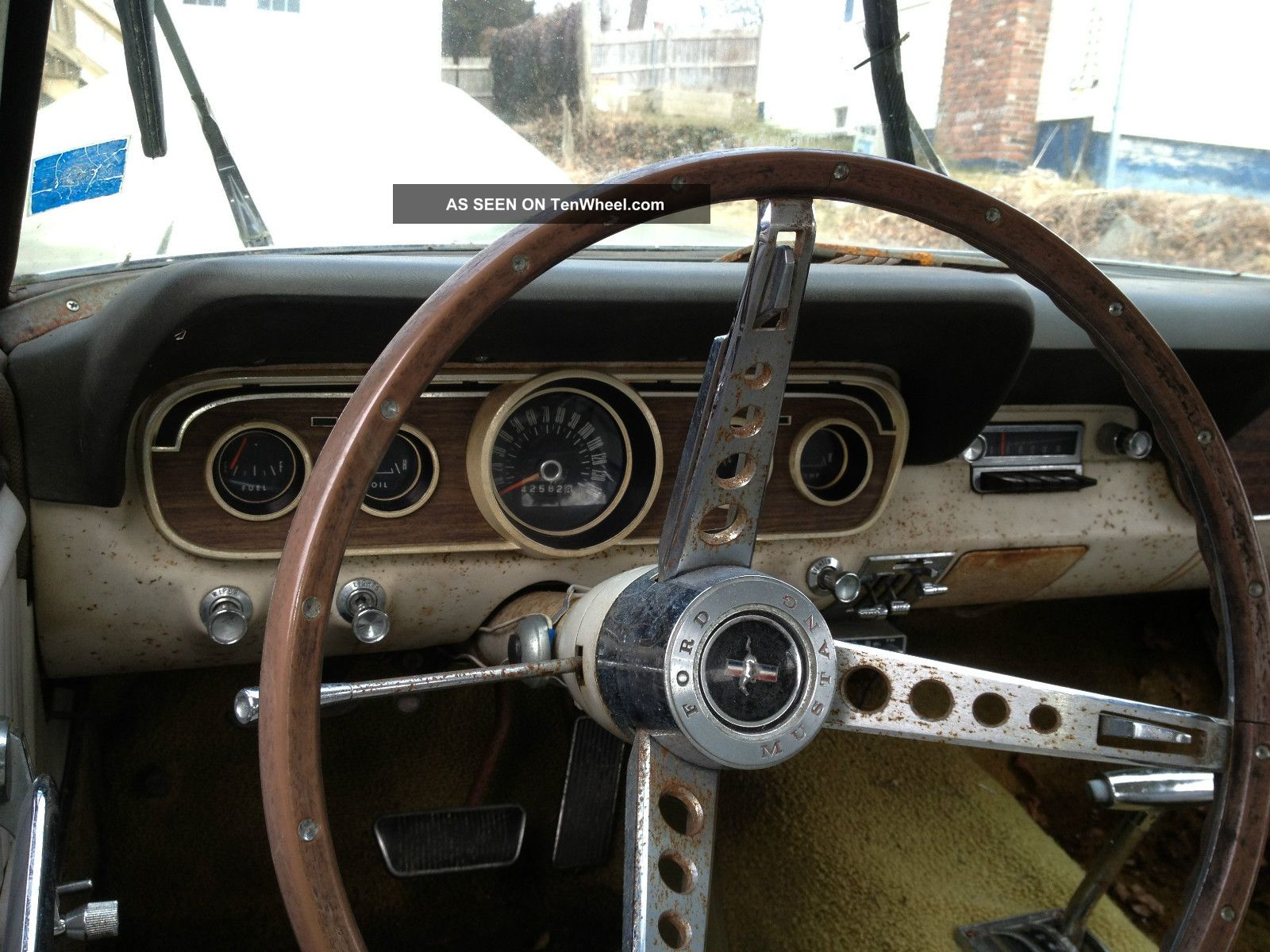 3688 Ih Interior : Mustang coupe not fastback pony interior