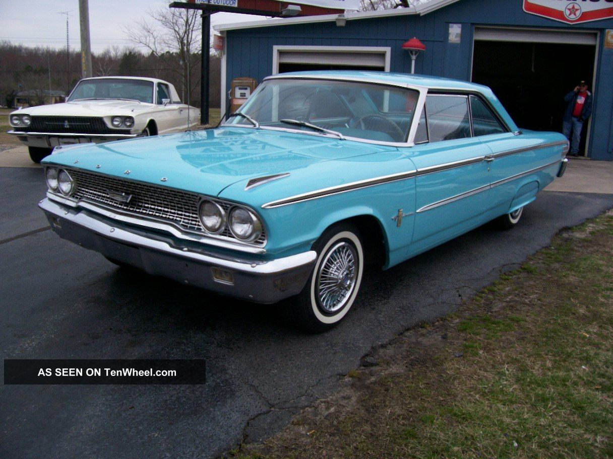1963 ford galaxie 500. Black Bedroom Furniture Sets. Home Design Ideas