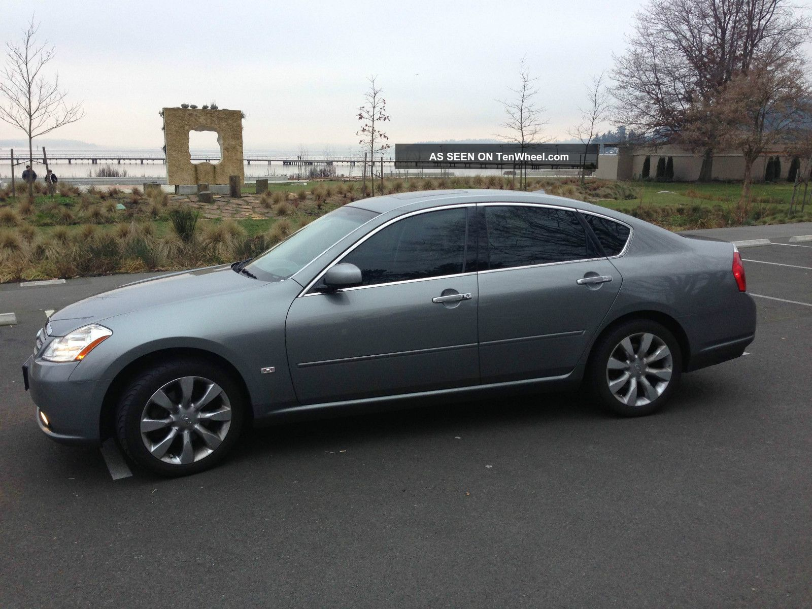 Dark Gray 2007 Infiniti M35x Awd 4 Door Sedan