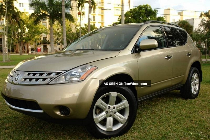 2007 Nissan Murano S Sport Utility 4 - Door 3.  5l Murano photo