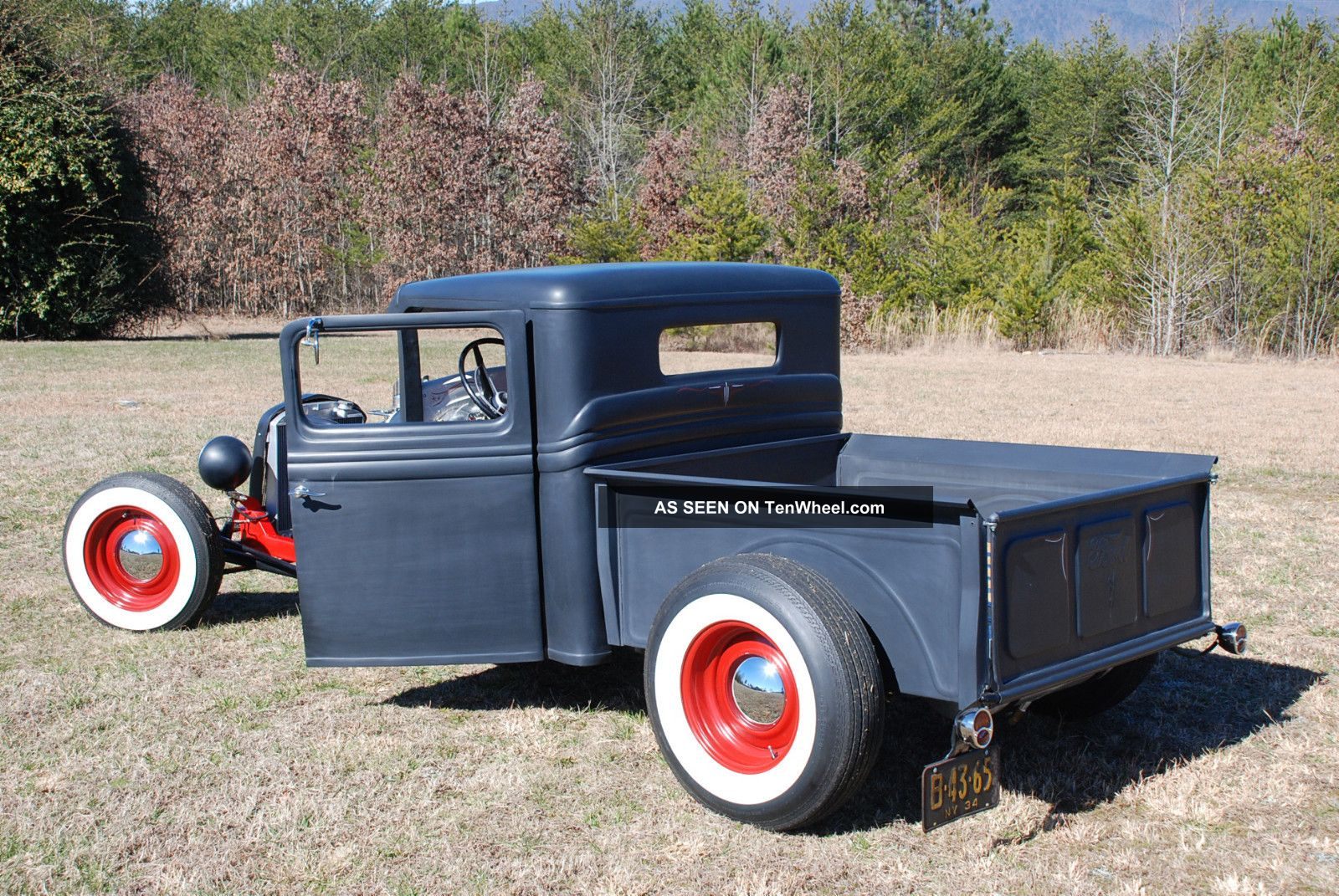 1934 Ford Truck Chopped Channeled Rpu Rat Hot Rod 350 Modified Custom Old Skool