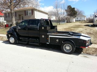 2004 Ford F650 Xlt Crew Cab 5.  9 Cummins photo
