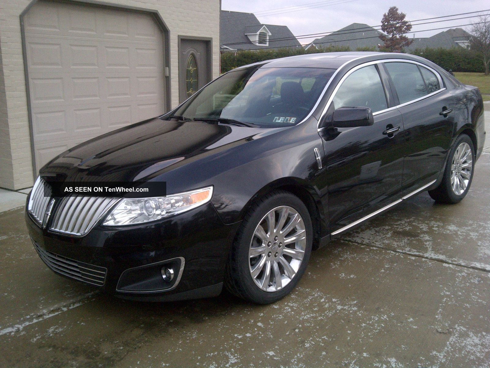 2009 lincoln mks awd 3 7l panoramic. Black Bedroom Furniture Sets. Home Design Ideas