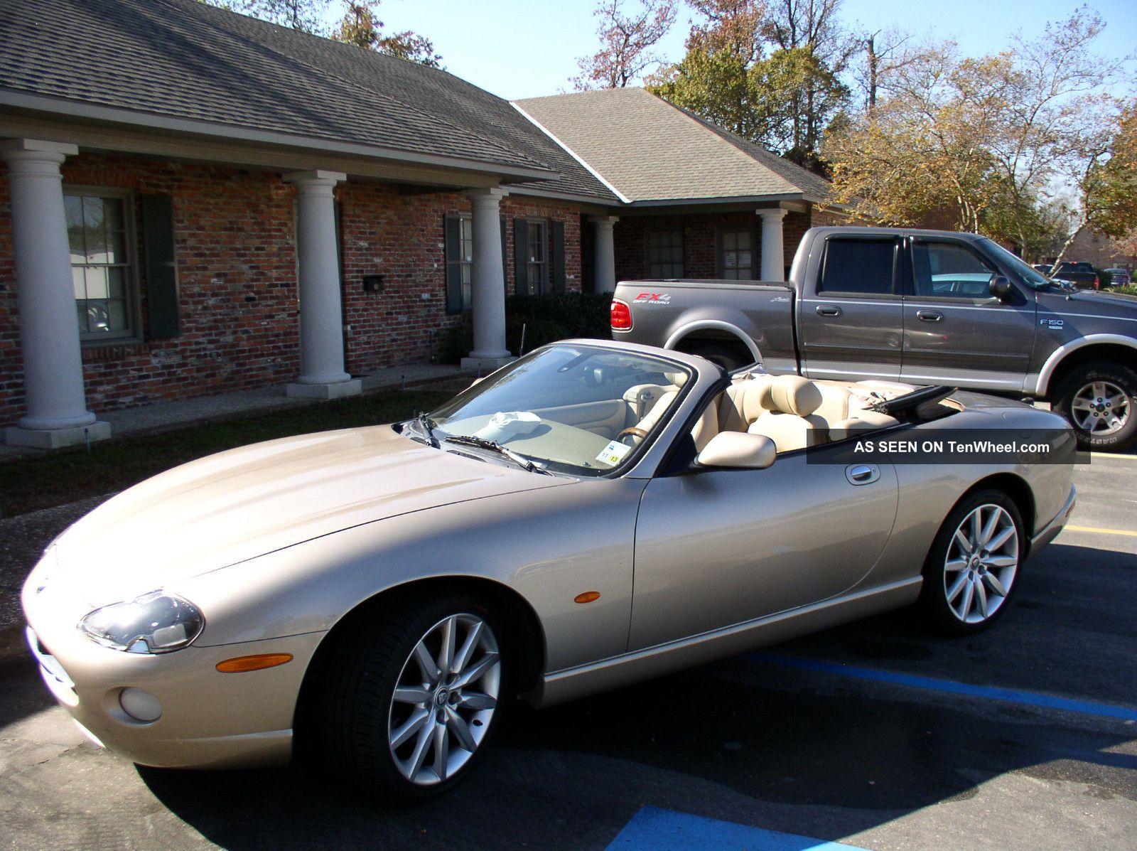2005 pristine jaguar xk8 champagne convertible. Black Bedroom Furniture Sets. Home Design Ideas