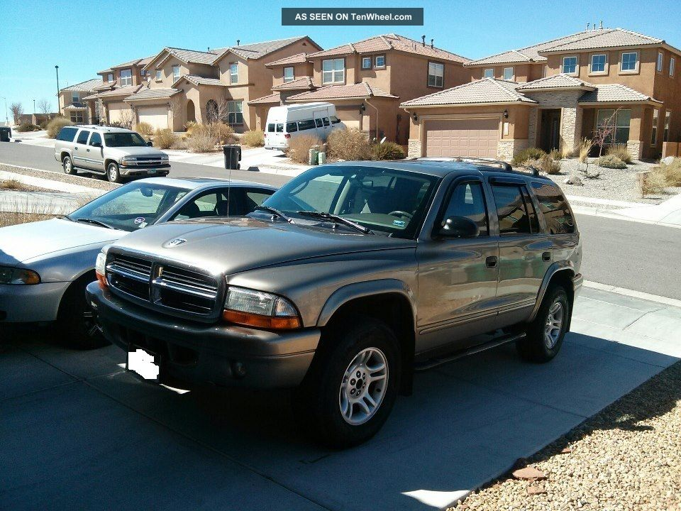 2003 dodge durango slt sport utility 4 door 4 7l backup. Black Bedroom Furniture Sets. Home Design Ideas