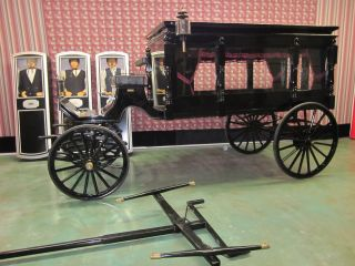 1881 Horse Drawn Hearse Replica photo