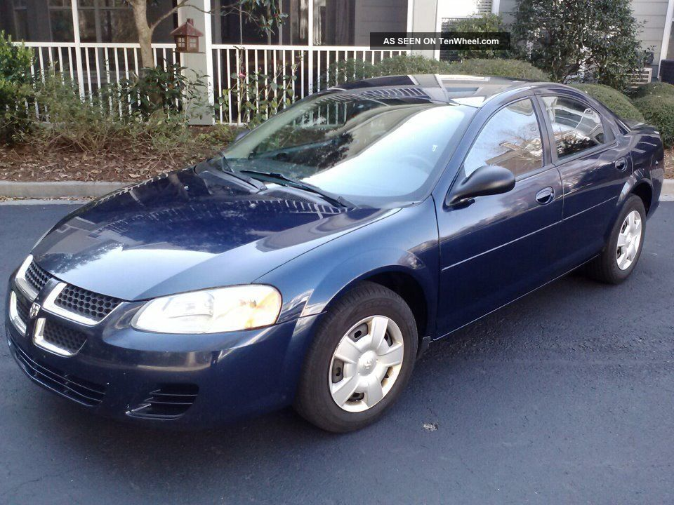Immaculate 2006 Dodge Stratus Sxt 4 Door 2 7l V6 Flex