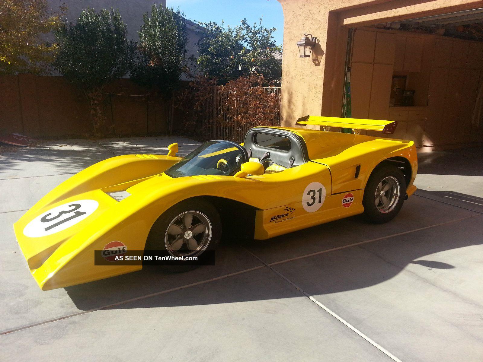 1969 Manta Mirage Mclaren M8b Replica Of 1969 Can Am Race Car Hot Rod Hotrod