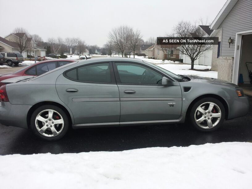 2008 Pontiac Grand Prix Gxp Sedan 4 Door 5 3l