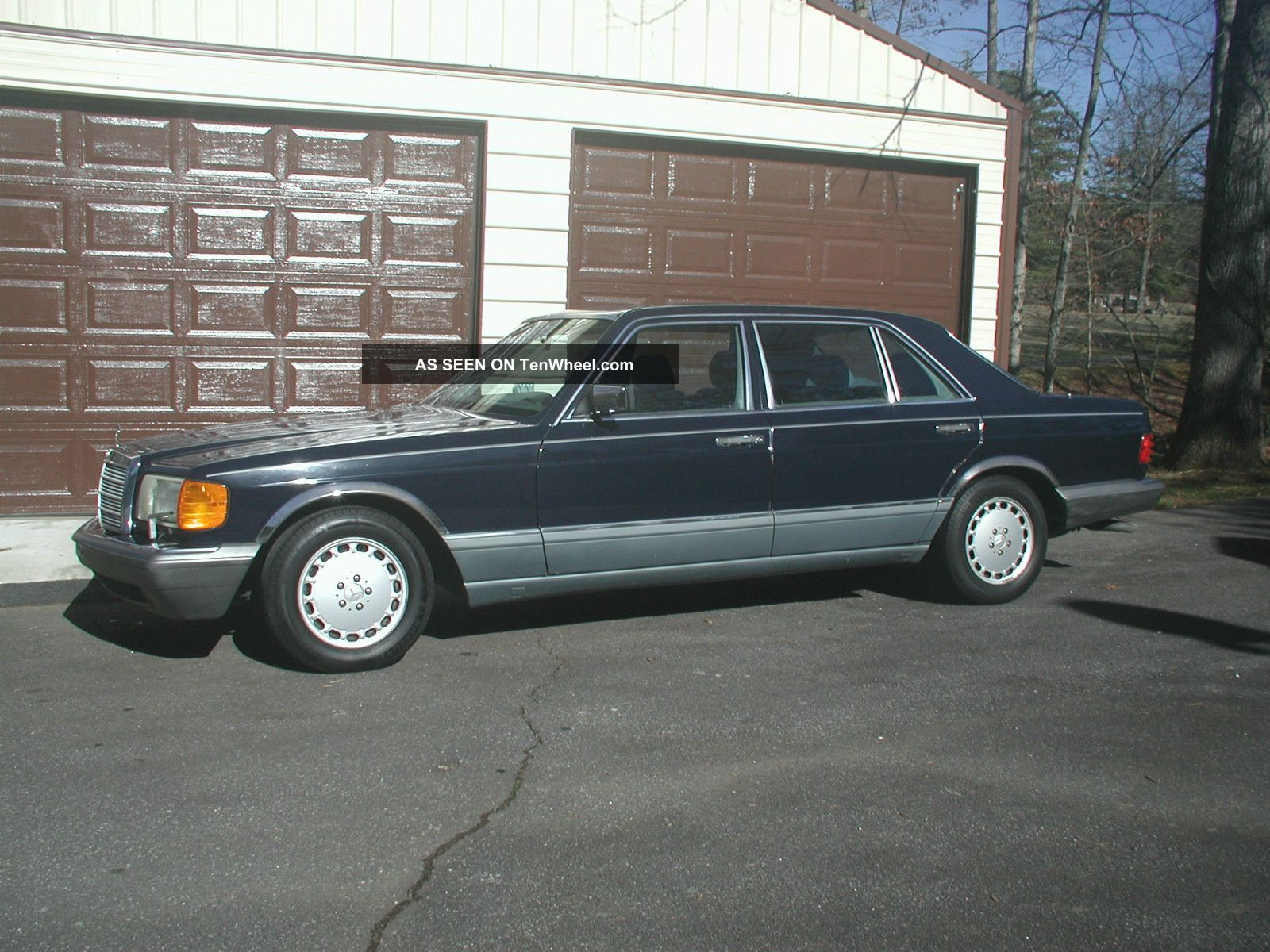 1986 Mercedes Benz 420 Sel Partially Needs Paint
