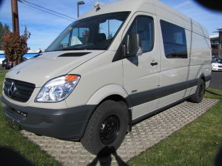 2011 Mercedes Sprinter Custom One Off Conversion With Extended Roof / 170inch W / B photo