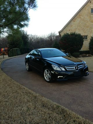 2010 Mercedes - Benz E550 Coupe P1 P2 Package Amg Style Package Loaded photo