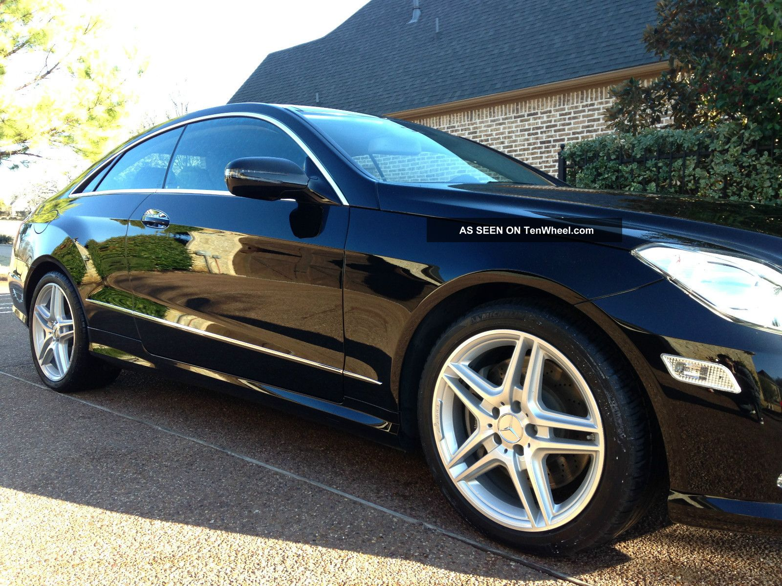 2010 mercedes benz e550 coupe p1 p2 package amg style package loaded. Black Bedroom Furniture Sets. Home Design Ideas