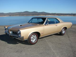 1966 Pontiac Gto 389 4 Speed Real Car Phs Documents / Build Sheet photo