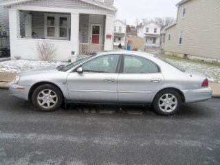 2003 Mercury Sable Ls Premium Sedan 4 - Door 3.  0l photo