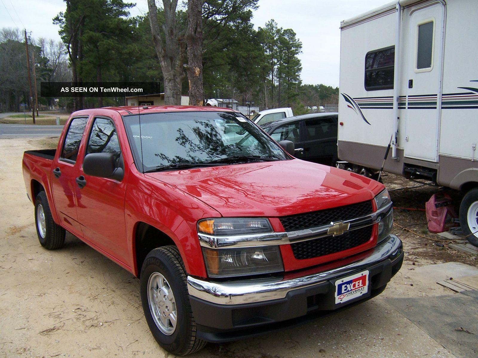 2007 chevrolet colorado lt crew cab pickup 4 door 2 9l. Black Bedroom Furniture Sets. Home Design Ideas